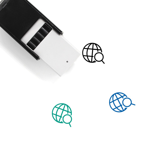 Web Search Self-Inking Rubber Stamp No. 34
