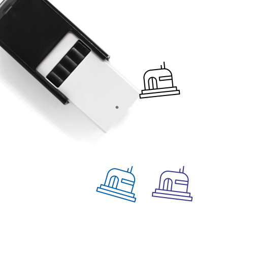 Bunker Self-Inking Rubber Stamp No. 4