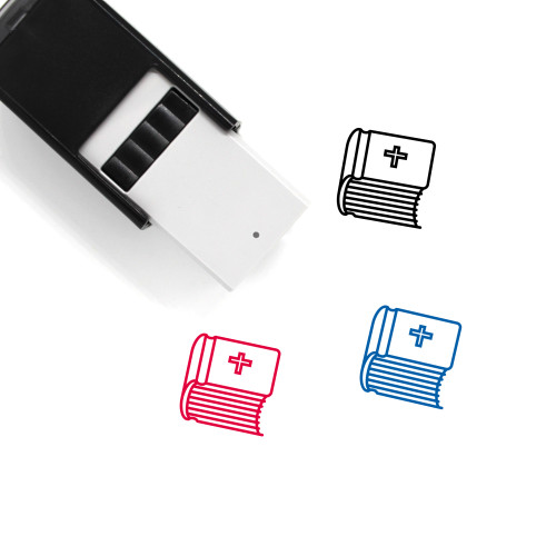 Holy Bible Self-Inking Rubber Stamp No. 22