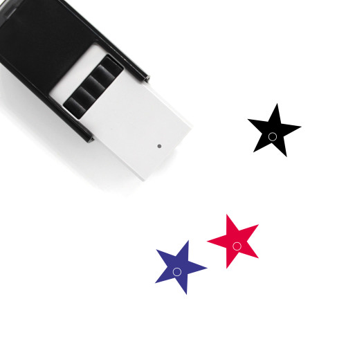 Star Self-Inking Rubber Stamp No. 615