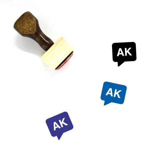 Akan Wooden Rubber Stamp No. 2