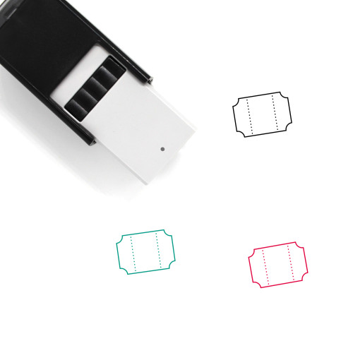 Entry Ticket Self-Inking Rubber Stamp No. 1