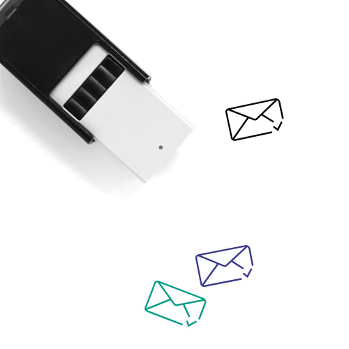 Approve Mail Self-Inking Rubber Stamp No. 2