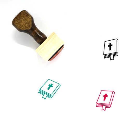Holy Bible Wooden Rubber Stamp No. 23