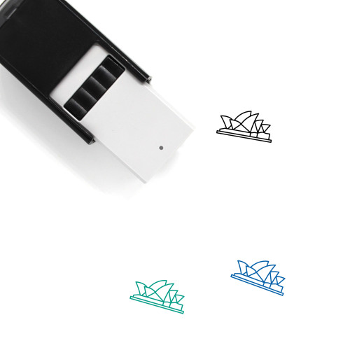 Opera House Self-Inking Rubber Stamp No. 8