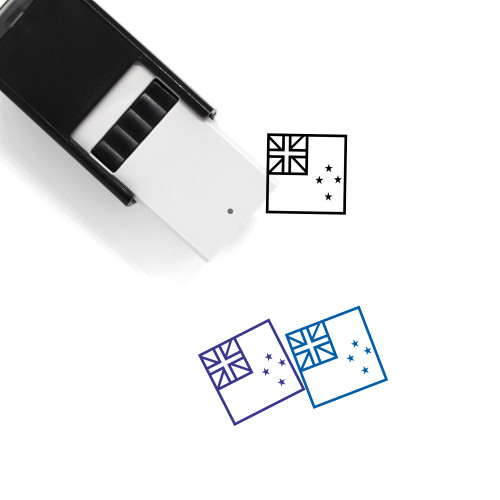 New Zealand Self-Inking Rubber Stamp No. 14