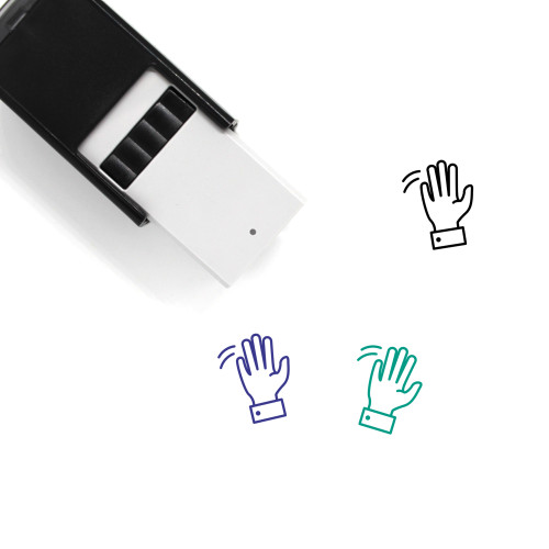 Greeting Self-Inking Rubber Stamp No. 6