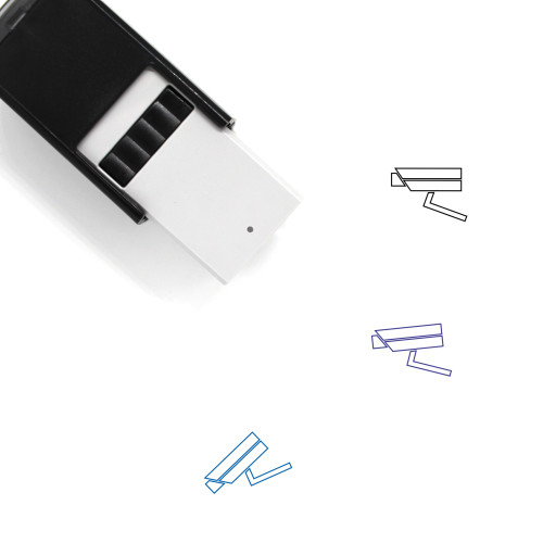 Security Camera Self-Inking Rubber Stamp No. 85