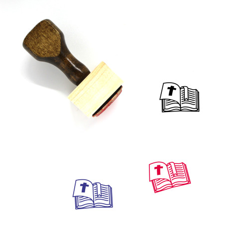 Holy Bible Wooden Rubber Stamp No. 24