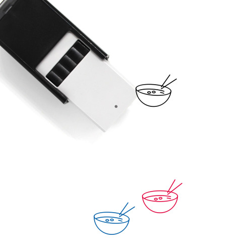 Soup Self-Inking Rubber Stamp No. 7