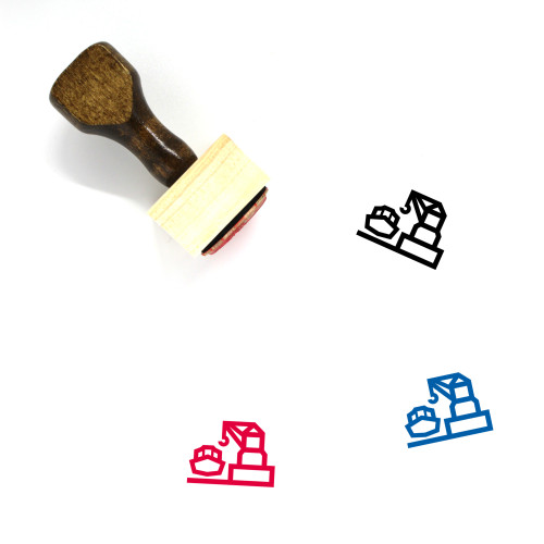 Harbour Wooden Rubber Stamp No. 2
