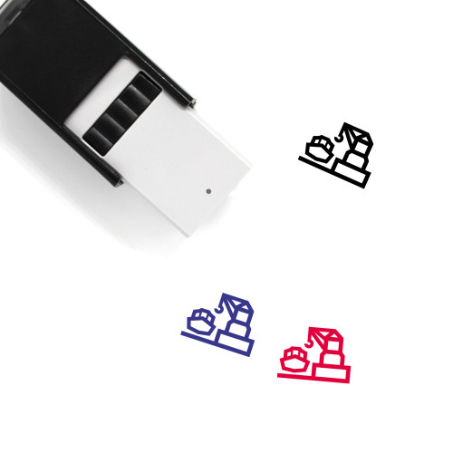 Harbour Self-Inking Rubber Stamp No. 2