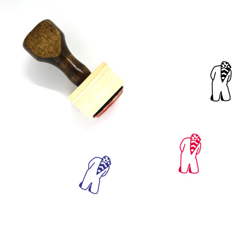Detainee Wooden Rubber Stamp No. 1