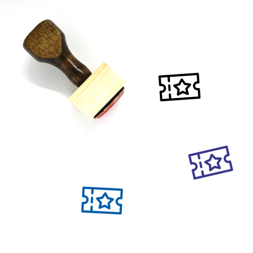 Travel Wooden Rubber Stamp No. 42