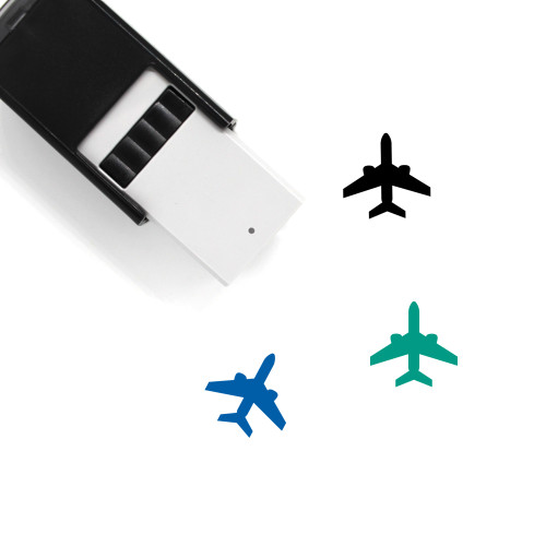 Airplane Self-Inking Rubber Stamp No. 181