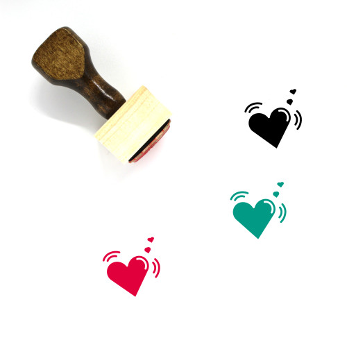 Loving Wooden Rubber Stamp No. 1