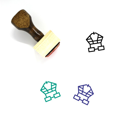 Ancient Wooden Rubber Stamp No. 2