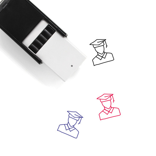 Graduate Student Self-Inking Rubber Stamp No. 1