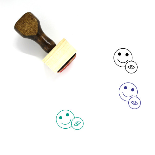 Account Overview Wooden Rubber Stamp No. 2