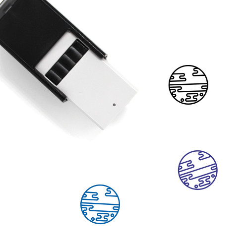 Planet Self-Inking Rubber Stamp No. 48