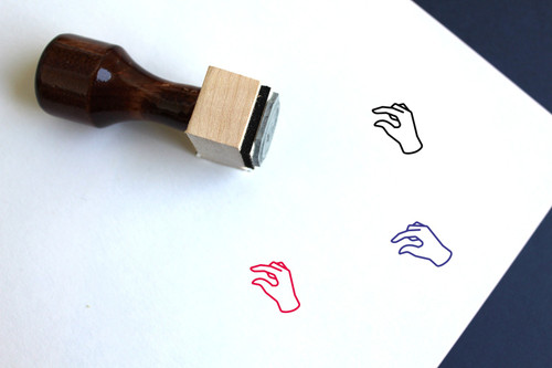 About Wooden Rubber Stamp No. 4