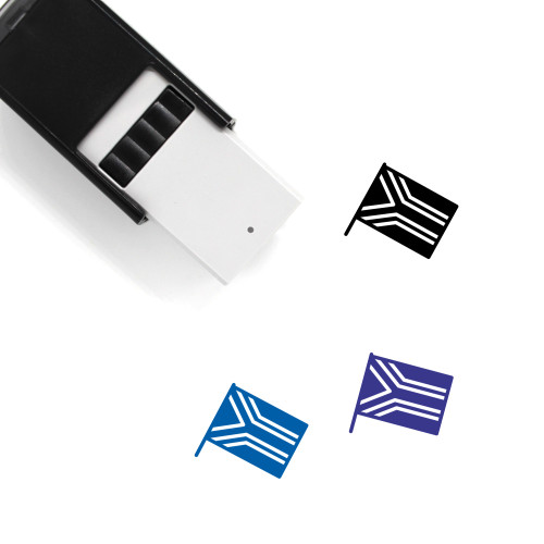 South Africa Self-Inking Rubber Stamp No. 12