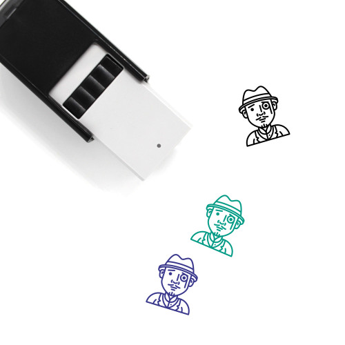 Detective Self-Inking Rubber Stamp No. 12