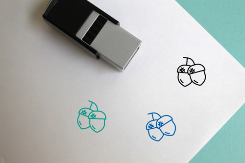 Acorns Self-Inking Rubber Stamp No. 1