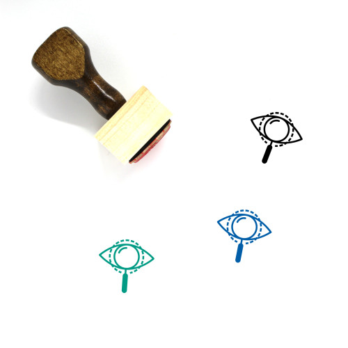 Analysis Wooden Rubber Stamp No. 5