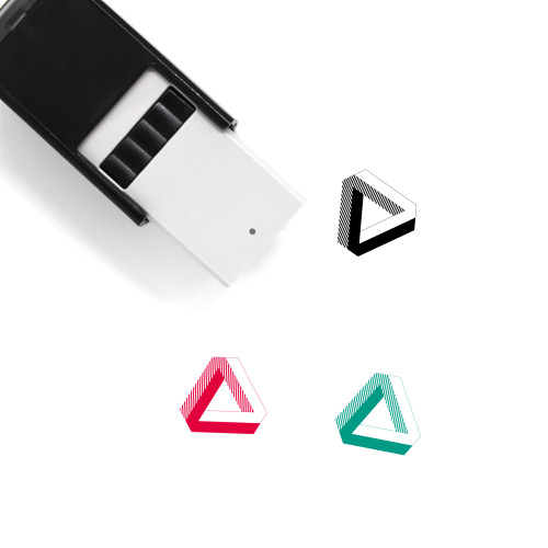 Penrose Triangle Self-Inking Rubber Stamp No. 2