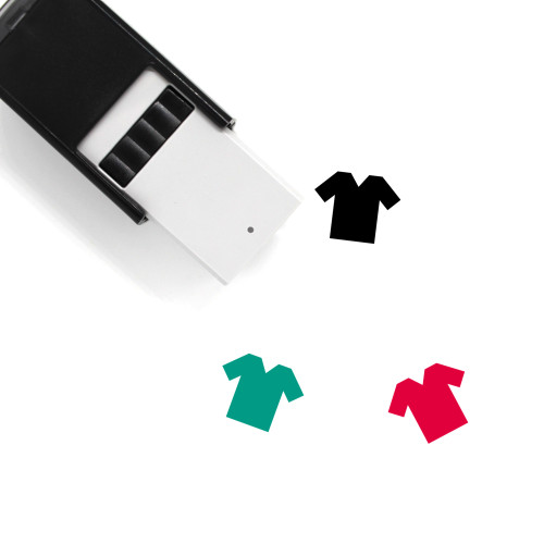 Clothes Self-Inking Rubber Stamp No. 18