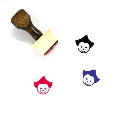IT Wooden Rubber Stamp No. 50