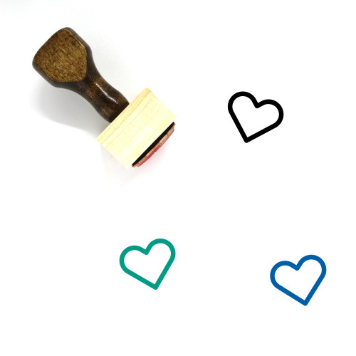 Love Wooden Rubber Stamp No. 290
