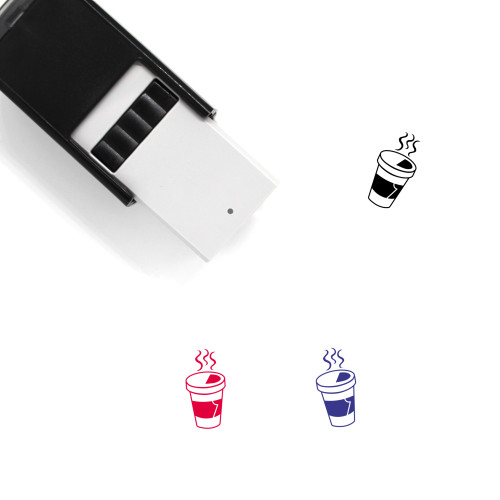 Hot Drink Self-Inking Rubber Stamp No. 3