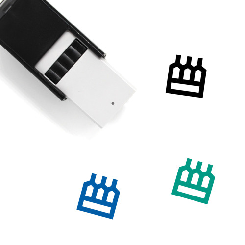 Bar Self-Inking Rubber Stamp No. 10