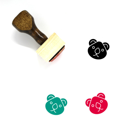 Animal Wooden Rubber Stamp No. 27