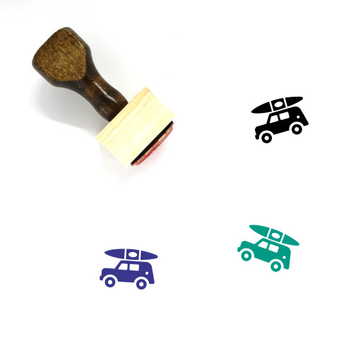 Jeep Wooden Rubber Stamp No. 1