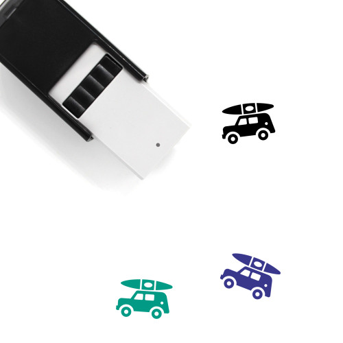 Jeep Self-Inking Rubber Stamp No. 1