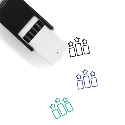 Competition Self-Inking Rubber Stamp No. 4