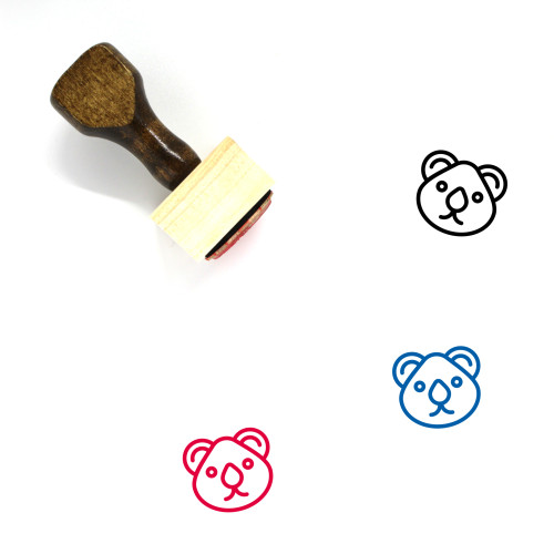 Animal Wooden Rubber Stamp No. 30