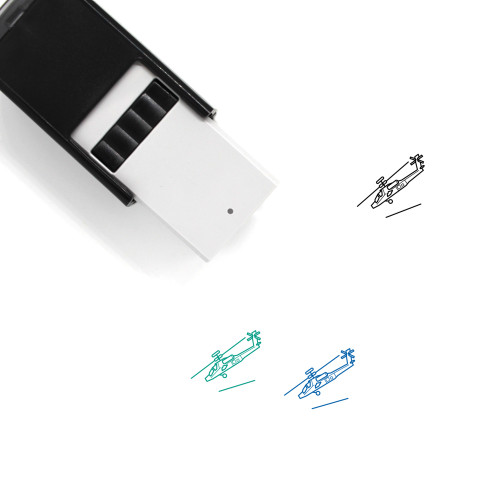 Apache Self-Inking Rubber Stamp No. 1