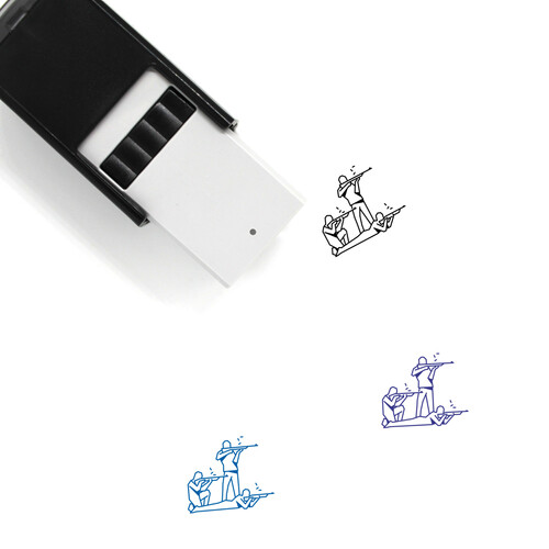 Shooters Self-Inking Rubber Stamp No. 1