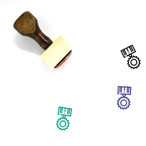 Medal Of Honor Wooden Rubber Stamp No. 1