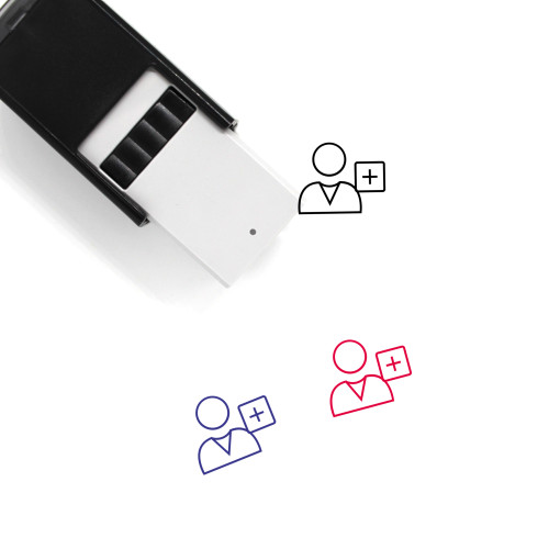 Add User Self-Inking Rubber Stamp No. 33