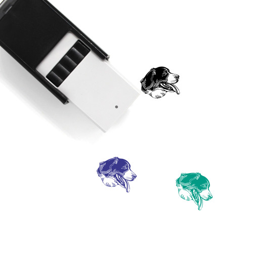 Bernese Mountain Dog Self-Inking Rubber Stamp No. 1