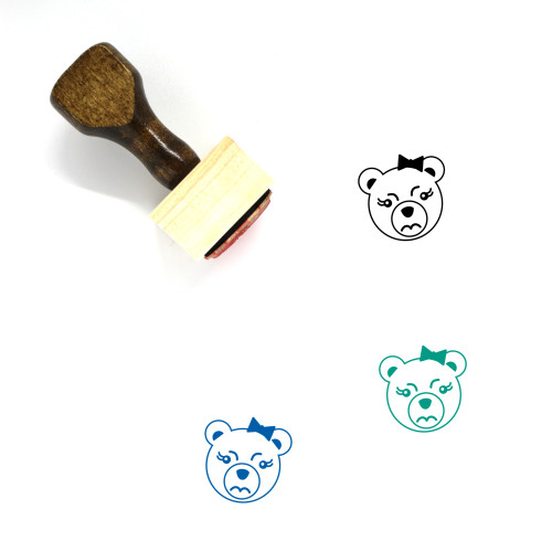Anger Wooden Rubber Stamp No. 6