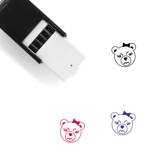 Anger Self-Inking Rubber Stamp No. 6