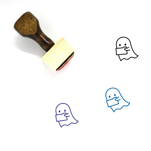 Lost Data Wooden Rubber Stamp No. 1