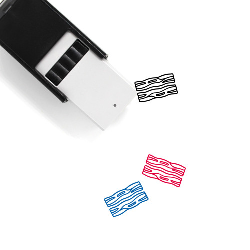 Bacon Self-Inking Rubber Stamp No. 3