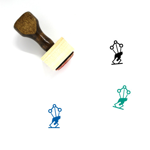 Election Data Wooden Rubber Stamp No. 1